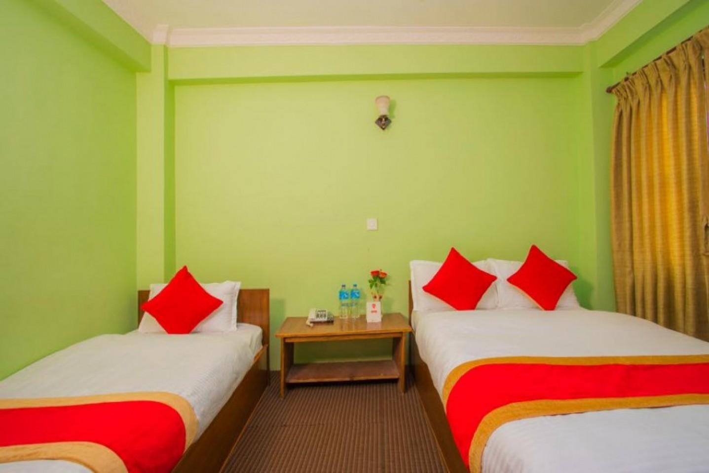 Bed Room  for Guest in Kathmandu Nepal