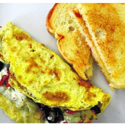 Breakfast - Omelet bread